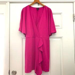 NWT Free Press dress with ruffle waist detail XL